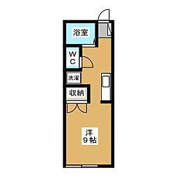 メゾンIWAZO[2階]の間取り