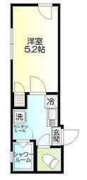 ウィンレックス赤羽二丁目[4階]の間取り