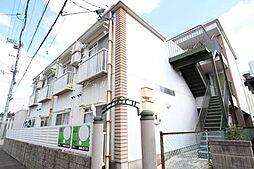 岡山県岡山市北区清心町の賃貸アパートの外観
