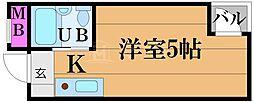 アクト62[5階]の間取り