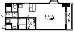 ロータリマンション長田東 長田東1 長田駅6分[6階]の間取り