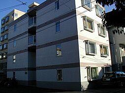 北海道札幌市豊平区平岸一条7丁目の賃貸マンションの外観