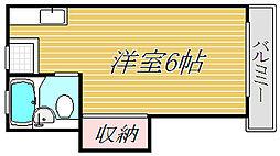 シャレー学芸大カワベ第3[2階]の間取り