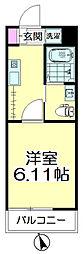 (仮称)青葉区台原共同住宅B棟[203号室]の間取り