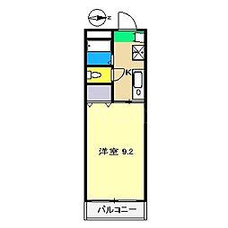 メゾン・グロワール[1階]の間取り