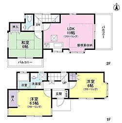[一戸建] 神奈川県藤沢市湘南台7丁目 の賃貸【/】の間取り