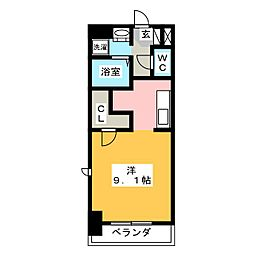 メゾンドール[3階]の間取り