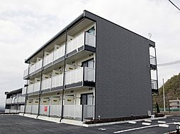 兵庫県西宮市山口町金仙寺3丁目の賃貸アパートの外観