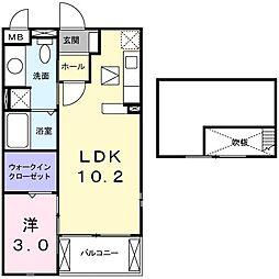 イラナークII[0201号室]の間取り