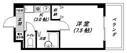 新和レジデンス[305号室]の間取り