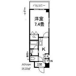 JUNWAマンションII[3階]の間取り