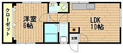 兵庫県神戸市中央区神若通5丁目の賃貸マンションの間取り