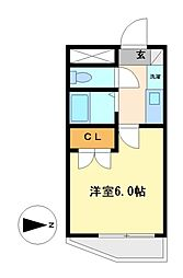 G1ビル本山[2階]の間取り