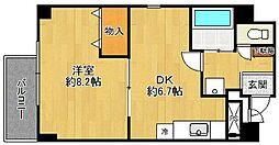 ゴールドフェンス[2階]の間取り