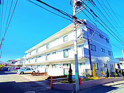 東京都東村山市萩山町4丁目の賃貸マンションの外観