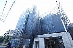東京都大田区上池台1丁目の賃貸マンションの外観