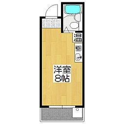 東海ハウス[303号室]の間取り