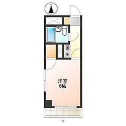 フォレストマンション[202号室]の間取り