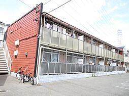 大阪府四條畷市北出町の賃貸アパートの外観