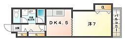 守口ガーデンハウス[2階]の間取り