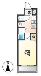 サンモール5[3階]の間取り