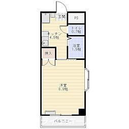 パールメゾン II[2階]の間取り