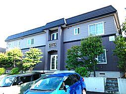 北海道札幌市中央区宮の森三条12丁目の賃貸アパートの外観