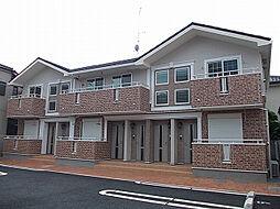 埼玉県越谷市蒲生南町の賃貸アパートの外観