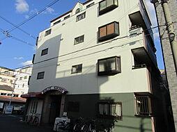 大阪府大阪市東住吉区中野1丁目の賃貸マンションの外観