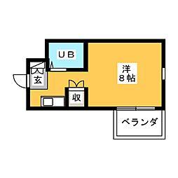 Be Box[1階]の間取り