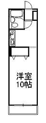 コーポ円城寺[206号室]の間取り