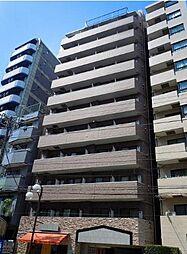 東京都文京区千駄木3丁目の賃貸マンションの外観