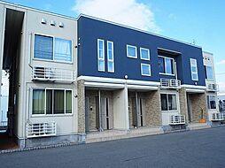 富山県富山市萩原の賃貸アパートの外観