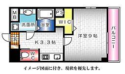 KDXレジデンス舟入幸町[901号室]の間取り