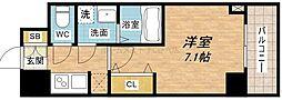 サムティ本町橋IIMEDIUS[2階]の間取り