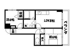 VEGA999[1階]の間取り