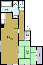 INビル[2階]の間取り