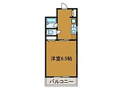 ウィステリア相模原[2階]の間取り