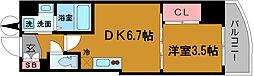 SERENITE堺筋本町SUD[10階]の間取り