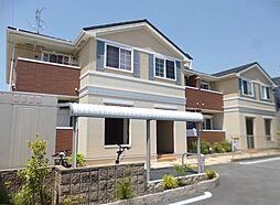 大阪府富田林市若松町西3丁目の賃貸アパートの外観