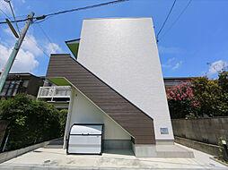 愛知県名古屋市中村区日ノ宮町5丁目の賃貸アパートの外観