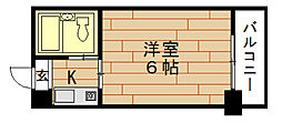 LeA・LeA九条51番館[5階]の間取り