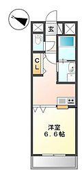 東京都三鷹市深大寺2丁目の賃貸マンションの間取り