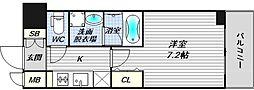 スプランディッド大阪WEST[9階]の間取り