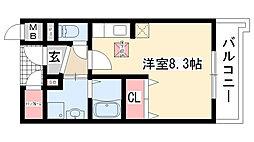 愛知県名古屋市緑区大高町字上塩田の賃貸マンションの間取り