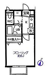 K・メゾン[1階]の間取り