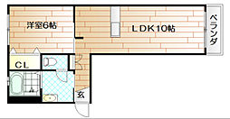 リンデンバーム A棟[1階]の間取り
