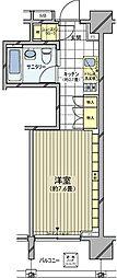 カスタリア麻布十番七面坂[5階]の間取り