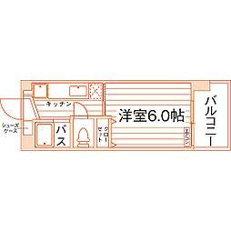 southerlies泉崎[8階]の間取り