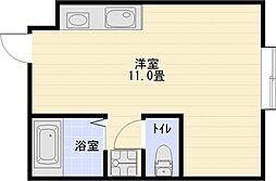 エステートヨシマン2[1階]の間取り